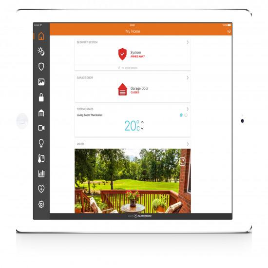 Visonic Qolsys Home Automation Alarm Kit - FHAz0rj