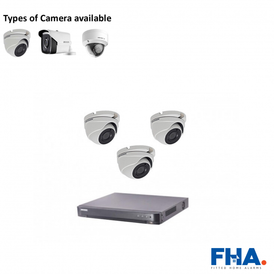 3 Camera CCTV System Fully Fitted - FHAcxj1
