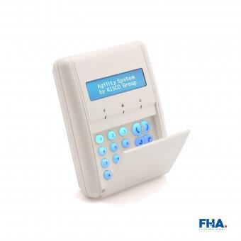 Risco Agility Wireless LCD Keypad 2-way - FHAmh6y