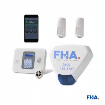 Risco CommPact wireless Smart Burglar Alarm with FREE Remote Access App - FHAcbvk